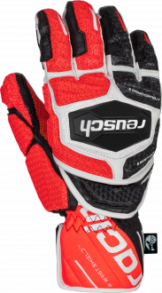 Reusch Worldcup Warrior GS 6011111 7810 white black red front